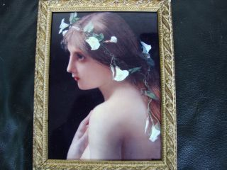 Kpm Porcelain Plaque photo