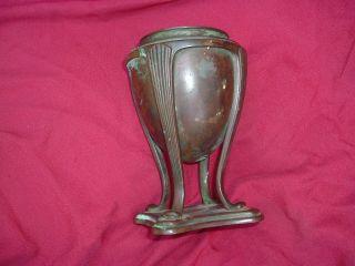 Tiffany Studios Bronze Greek Urn Lamp Base 181 No Shade photo