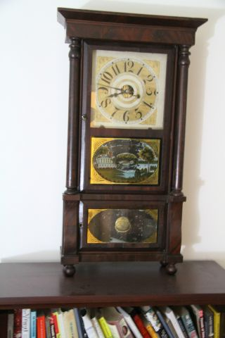 Eight Day Shelf Weight Clock photo