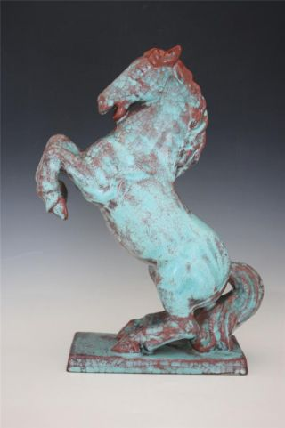 C1930s Danish Art Pottery Faience Horse Figure By Michael Anderson & Son No Res photo