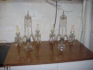 Lead Crystal Boudoir Lamp ' S photo