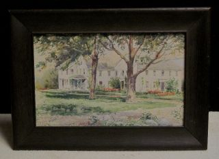 Warren Telechron Co. ,  Ashland,  Ma. ,  R.  C.  Woodberry,  Watercolor ~ Henry Warren photo
