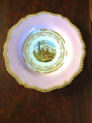 Worcester Porcelains Flight Barr & Barr Royal Worcester Dessert Plate photo