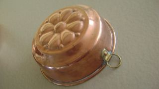 Copper Food Mold From Sweden Hand Crafted 5