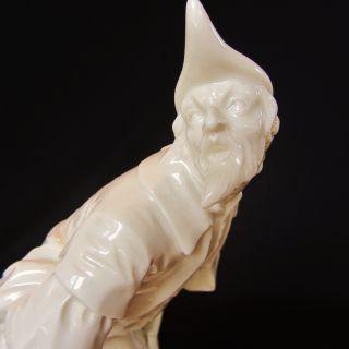 Antique Nymphenburg German Porcelain Blanc De Chine Dresden Pantalone Figurine photo