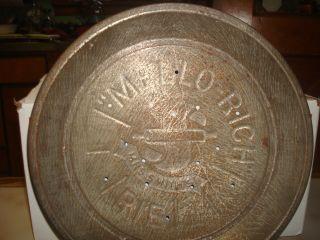 Vintage Mrs.  Smith Mellorich Apple Pie Tin photo
