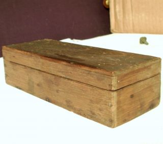 Vintage Antique Wooden Box Type Typeset Printing Wood Letterpress Tool Ink Art photo