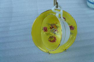 Vintage Royal Stafford Tea Cup And Saucer photo