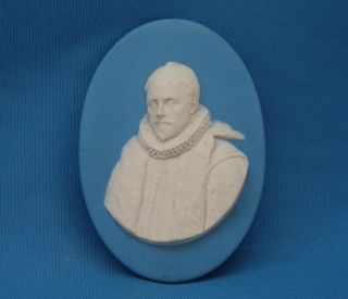 C11790s Wedgwood Jasperware William I Prince Of Orange Portrait Cameo Medallion photo