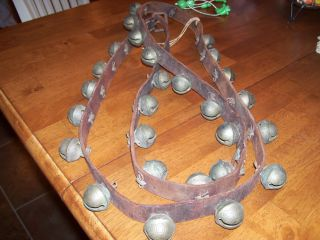 Vermont Antique Brass Sleigh Bells,  Petal Design Harness,  Numbered