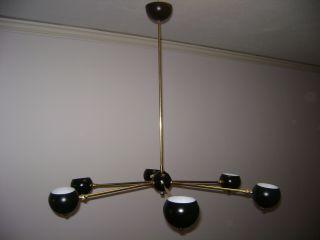 Arteluce Eames Stilnovo 6 - Ball Globe Satellite Chandelier - Lamp Mid Century Light photo