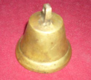 Heavy Vintage Antique Copper Bell photo