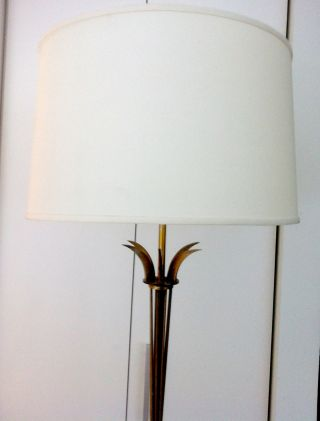 Art Deco Brass French Floor Lamp photo