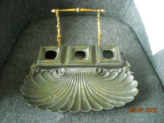 Bronze Empire Inkwell 1830s (miller ' S Antiques) photo