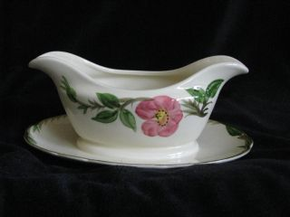 Franciscan Desert Rose Gravy Boat photo