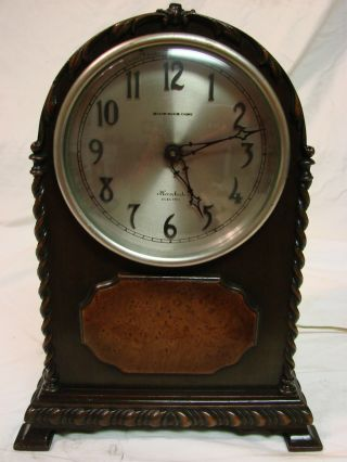 Rare Antique Hershede 1915 Worlds Fair Panama Expo Grand Prize Parlor Clock 4ms photo