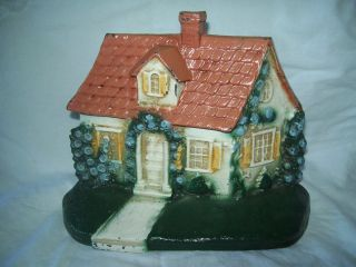 Antique Hubley Cast Iron Cottage Doorstop 211 photo