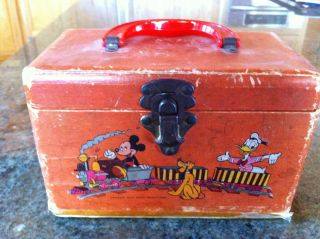 Disney Train Lunch Box photo