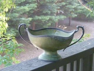 Antique Art Deco Evercraft Fruit Bowl (1960) photo