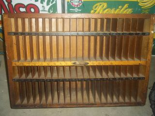 Vintage Industrial Printers Furniture Cabinet Made By The Thompson Cabinet Co. photo