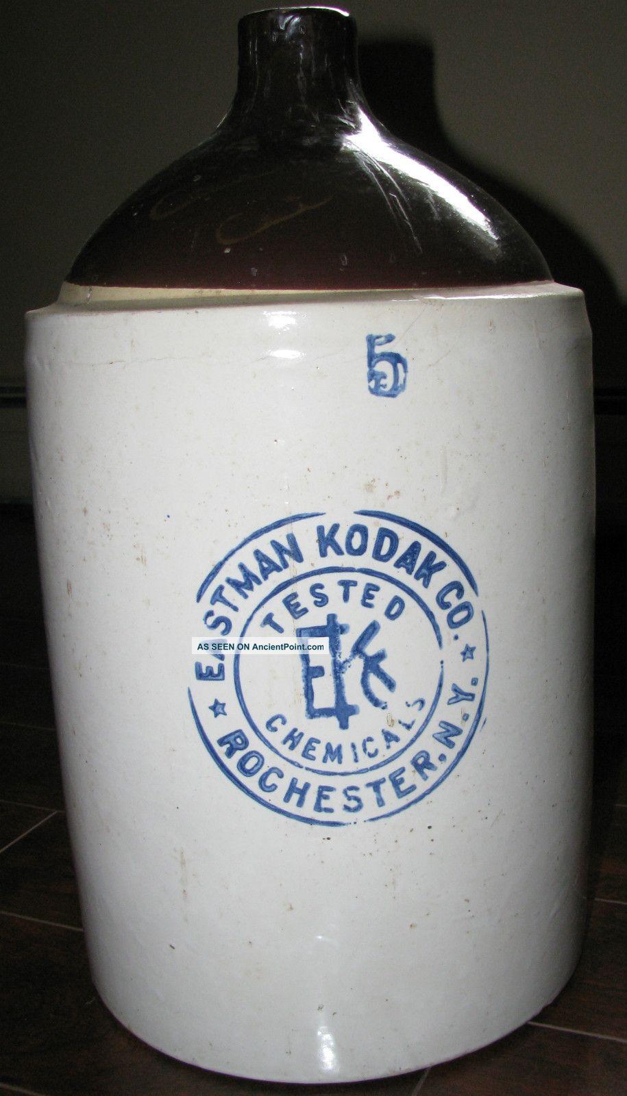 5 Gallon Chemical Stoneware Jug