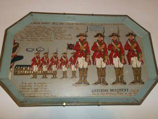 2 - Vintage Serving Trays W/french Regimate - French Revolution 1793 photo