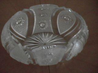 Bohemian Czech Antique Lead Crystal 14