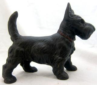 1930 ' S Hubley Cast Iron Scottish Terrier (scotty) Doorstop photo