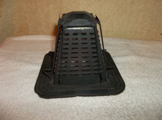 Antique/vintage Four Slot Stove Top Toast Maker Grt Cond photo