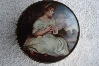 The World ' S Thornes Leeds,  England Premier Toffee Tin (age Of Innocence) photo