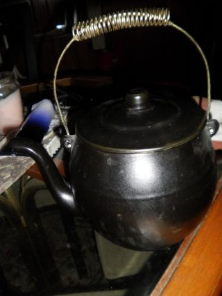 Vintage Teapot/coffe Pot Euc U.  S.  A. photo