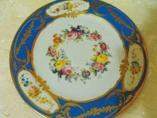 English Chatsworth House Tin Plate 10