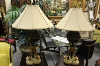 Pair Maitland - Smith Table Lamps photo