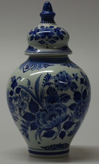 Delft  De Porceleyne Fles  Vase,  1958 photo