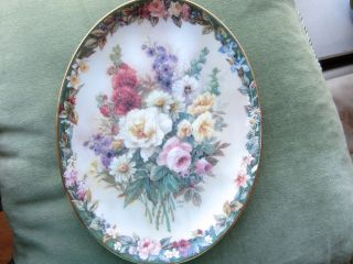 Antique Germany Porcelain Plate. photo