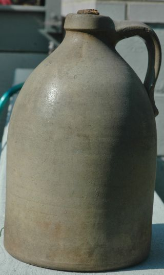 Antique 19th Century Ryan Brothers Stoneware Jug. . photo