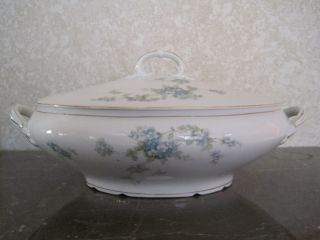 Vintage Carlsbad L S & S China Soup Toureen - Austria photo