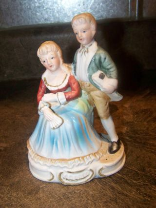 Colonial Period Couple Vintage photo