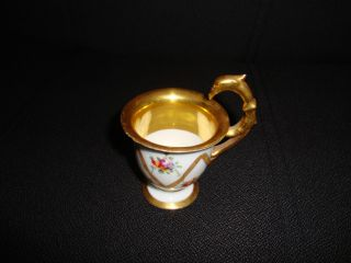 Antique Dresden Porcelain Cup photo