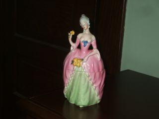 Vintage/antique Porcelain 2 Piece Dresser Vanity Doll Germany photo