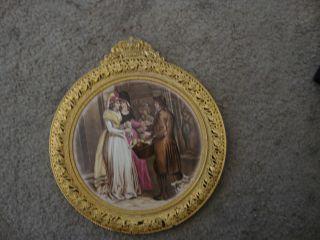 Antique Porcelain Plaque photo