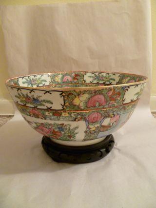 Antique Japanese Porcelain Decorative Bowl photo