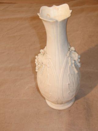 19th Century Parian Ware Vase photo