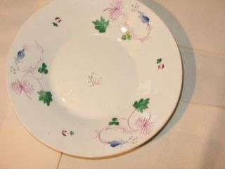 19th Century English Ceramic Plate With Polychrome Decor photo