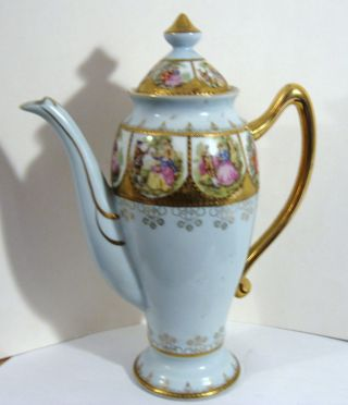 Ornate Victorian Teapot photo