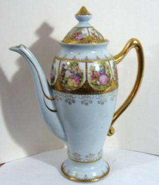 Ornate Victorian Teapot photo