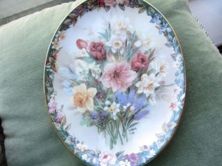 Vintage Porcelain Plate. photo