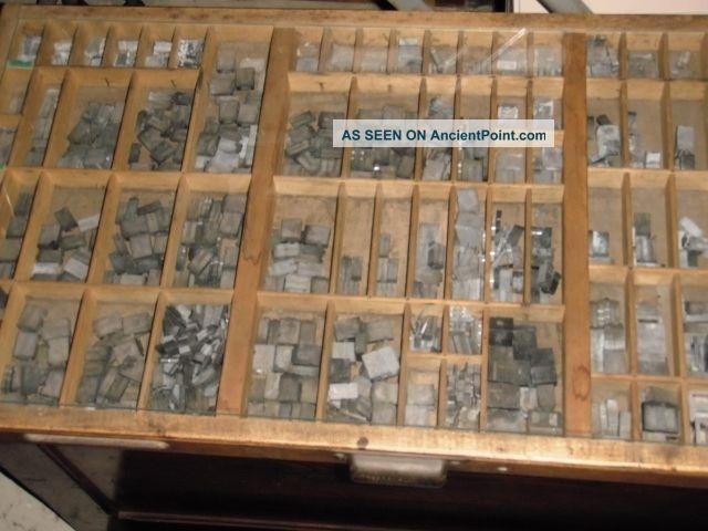 Antique Letterpress Drawer Antique Wooden Letterpress