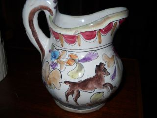 Vintage Pitcher From Portugal 1966 Mint photo