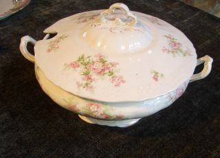 Haddock & Sons Antique Bowl W/lid Soup Tureen photo